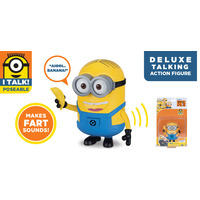 Despicable Me 3: Deluxe Talking Minion Action Figure - Dave with Banana