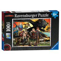 Ravensburger How To Train Your Dragon Xxl 100pc Jigsaw Puzzle