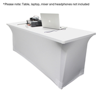 6ft Lycra Table Cover