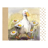 Alex Clarks Duck In The Daisies Placemat