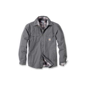 Carhartt Weathered Canvas Shirt Jacket