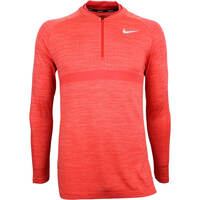 Nike Golf Pullover - NK Dry Knit SMLSS - Rush Coral SS18