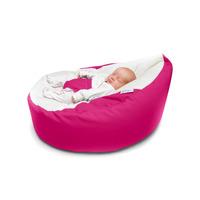GaGa Pre-Filled Baby Bean Bag in Cerise Pink Colour