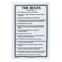 Ulster Weavers The Rules Linen Tea Towel