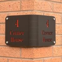 Corner House Sign