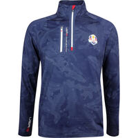 RLX Ryder Cup Golf Pullover - Tech Brushback Camo - Team USA 2018