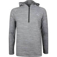 PUMA Golf Pullover - Range Days Hoodie - Grey Heather LE SS19