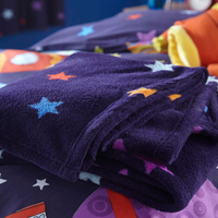 Outer Space Fleece Blanket