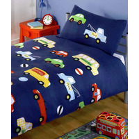 Transport Toddler Bedding Set - Cars and Lorries
