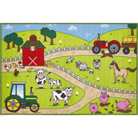 Farm, Childrens Play Mat 100 x 150 cm