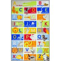 ABC, Large Alphabet Rug - 100 x 160 cm