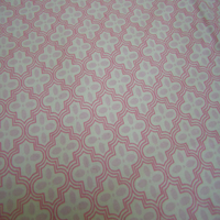Pink Patterned Single Fitted Sheet and Pillowcase