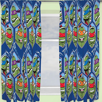 TMNT Curtains 54s - Dimension