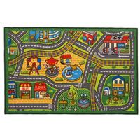 Happy Town Play Mat - 100 x 190 cm