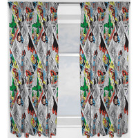 Marvel Avengers Curtains 54s - Retro