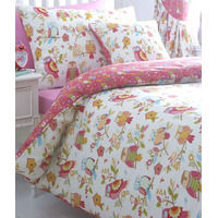 Colourful Owls, Childrens Single Duvet Set