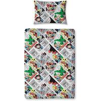 Marvel Comics Toddler Bedding - Retro