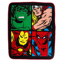 Marvel Comics Coral Fleece - Smash
