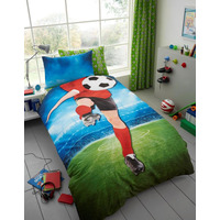 Footballer, Boys Single Bedding