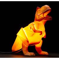 Dinosaur Lamp Orange Origami T-Rex