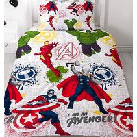 Marvel Avengers Single Bedding - Mission