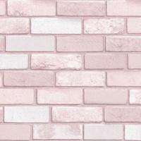 Diamond, Pink Brick Wallpaper