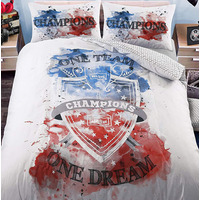 Football Champions Single Bedding