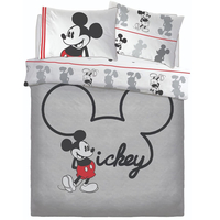 Mickey Mouse Double Duvet - Jersey