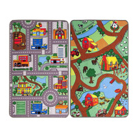 City / Farm Reversible Rug 100 x 165 cm