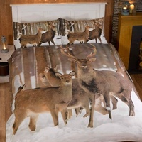Winter Stag King Size Duvet Covers