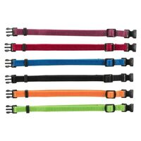 Trixie Nylon Puppy Adjustable Collars (6 or 12 pack)