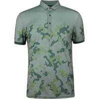 Galvin Green EDGE Golf Shirt - Kommendor Camo - Green 2019