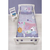 Peppa Pig Toddler Bedding - Sleepover
