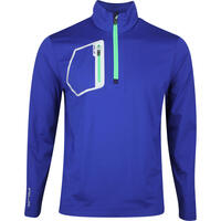 RLX Golf Pullover - Brushback Tech Jersey - Sporting Royal AW19