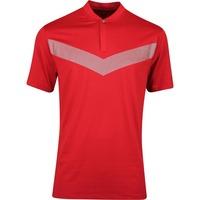 Nike Golf Shirt - TW Vapor Reflective Blade - Gym Red AW19