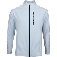 G/FORE Golf Jacket - Can't Break 80 Mid FZ - Capri Blue AW19