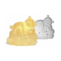 3D Ceramic Night Light - Sleepy Teddy