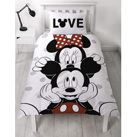 Micky and Minnie Single Duvet - Beyond