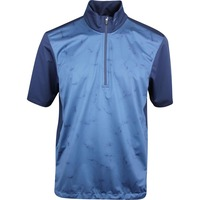 Galvin Green Golf Jacket - Link Interface-1 - Ensign Blue AW19