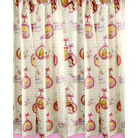 Disney Princess Curtains 54s - Locket