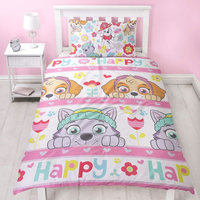 Paw Patrol Bedding. Kids Single Duvet - Bright