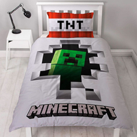 Minecraft Bedding, Single Duvet Set - Dynamite