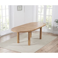 Mavis Solid Oak Extending Table