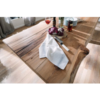 Samantha 240cm Solid Oak Wood Dining Table