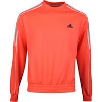 adidas Golf Jumper - Collection Ø Dobby Crew Neck - Signal Coral SS20