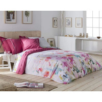 Floral, Pure Cotton, Single Bedding Set with Butterflies from Naf Naf
