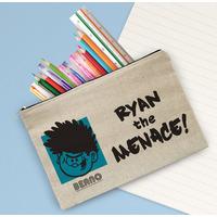 Beano Big Heads Dennis Canvas Pencil Case