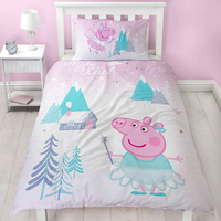 Peppa Pig Single Bedding - Sugar Plum Fairy