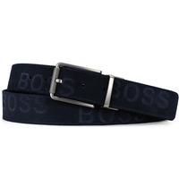 BOSS Golf Belt - Tintin Reversible - Navy - White SP20