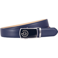 Galvin Green Golf Belt - Wayne Leather - Navy SS20